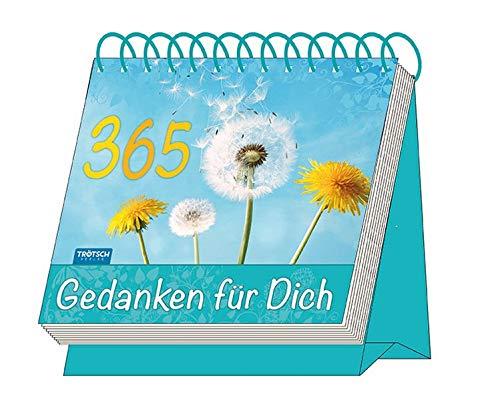 """Aufstellkalender \""""365 Gedanken für Dich\"""": Mit Sprüchen! immerwährend (Geschenkkalender)"""