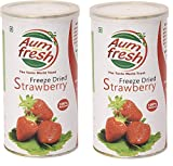 Strawberry Combo - Pack of 2 Strawberries 25 + 25 gm 100% Natural & Pure, No Artificial Flavour, No Addictives, No Preservatives, No MSG Aum Fresh is committed to supply quality products. It is scientifically proved that efficacy of a product is infl...