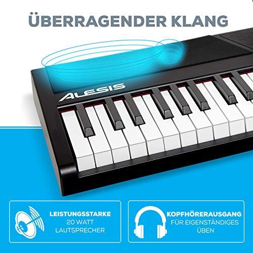 Alesis Recital – Digitalpiano mit 88 Tasten in Standardgröße und eingebauten Lautsprechern - 3