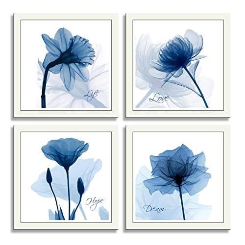 Navy Blue Wall Art: Amazon.com