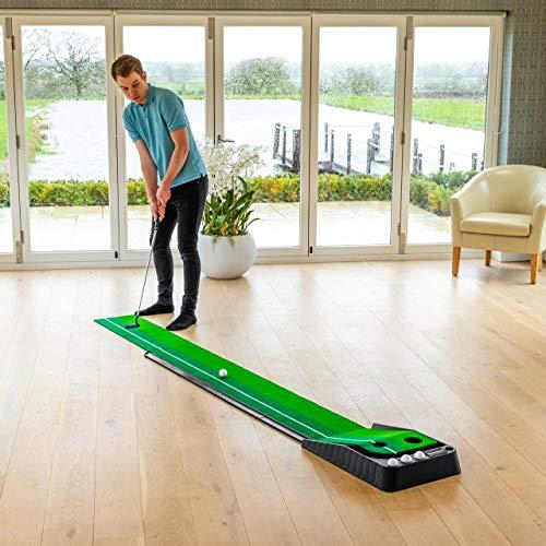 FORB Alfombra de Putting con Doble Césped para Entrenamientos de Golf -...