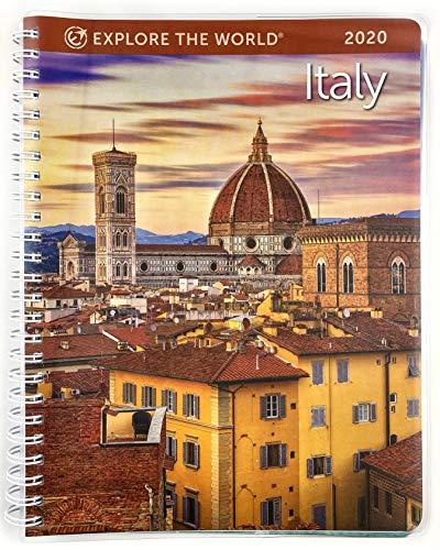 """Italy Weekly Engagement Calendar 2020 Planner Personal Journal Organizer Scheduler 6.5"""" x 8.5"""" Spiral"""