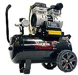 Compresor Silencioso 24 litros, 1.5hp portátil ideal para trabajos tanto en interior...