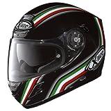 X-Lite - Casco da Moto Integrale, Nero/Rosso/Verde(League), XXL