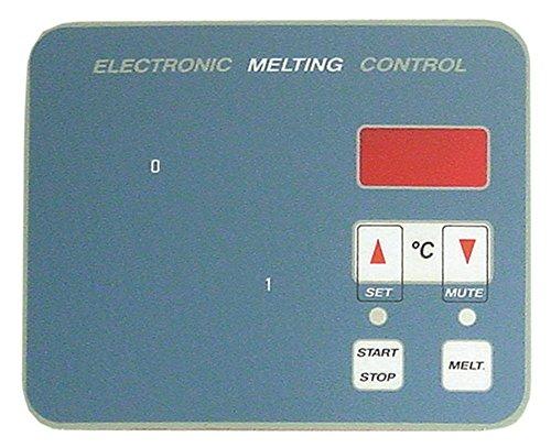 Giorik toetsenbordfolie voor friteuse 934FGC, 210FEC, 922FEC, 927FGC, 917FGC