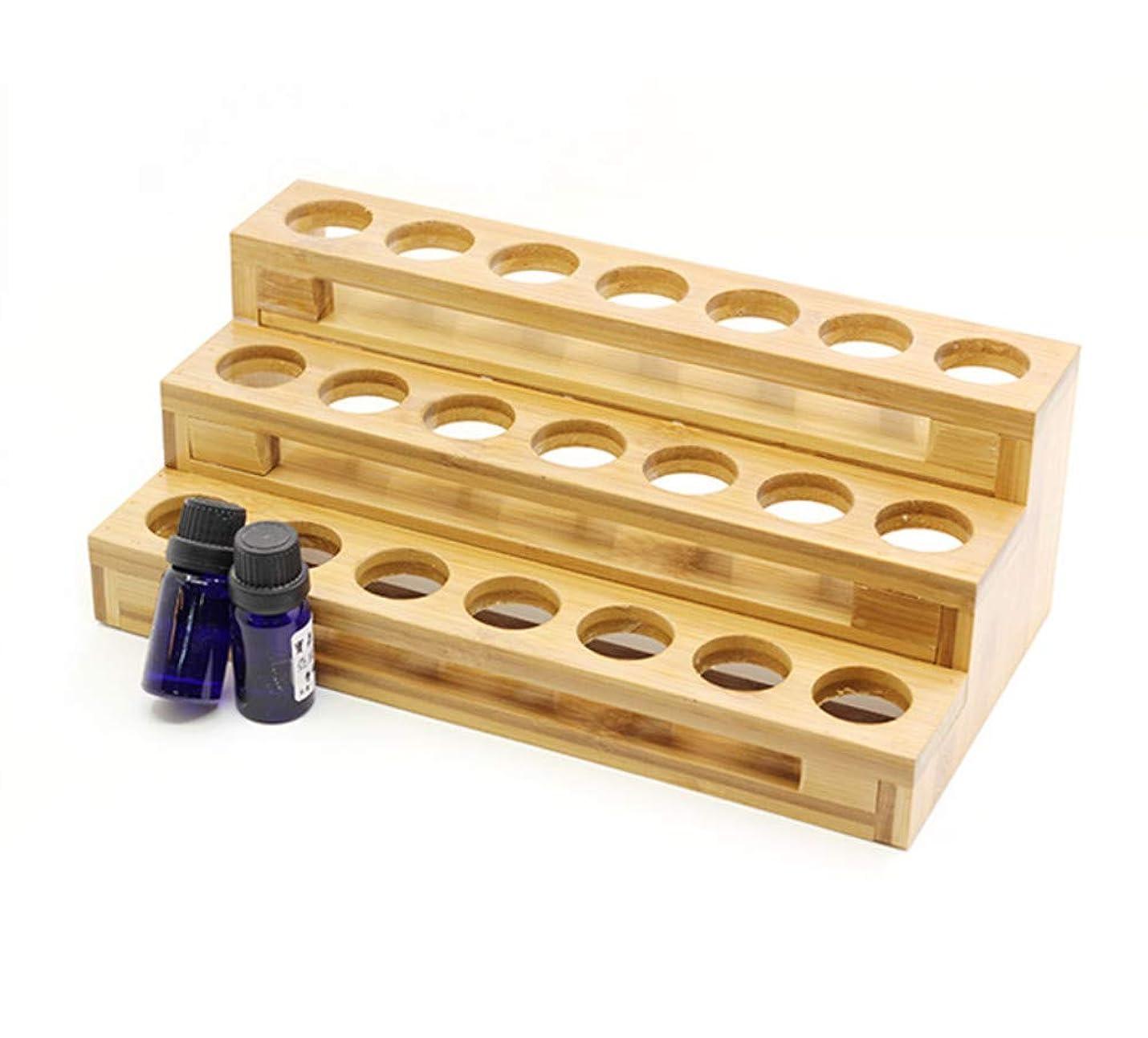 セール散髪誰がエッセンシャルオイル収納ボックス エッセンシャルオイル香水コレクションディスプレイスタンド 18本用 木製エッセンシャルオイルボックス メイクポーチ 精油収納ケース 携帯用 自然ウッド精油収納ボックス 香水収納ケース