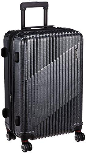 [エース] スーツケース クレスタ エキスパンド機能付 70L(拡張時) 61cm 4.3kg 61 cm ブラックカーボン