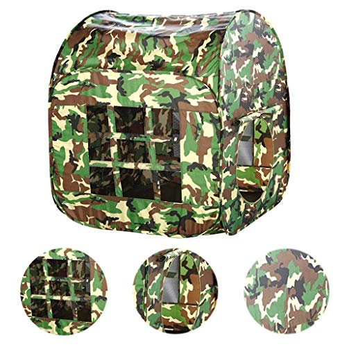 Children's Camouflage Tactics Tent, Pop Up Kids Play Tent, Simulation Militaire Game, Foldable Binnen/Buiten Gamehouse/Playhouse
