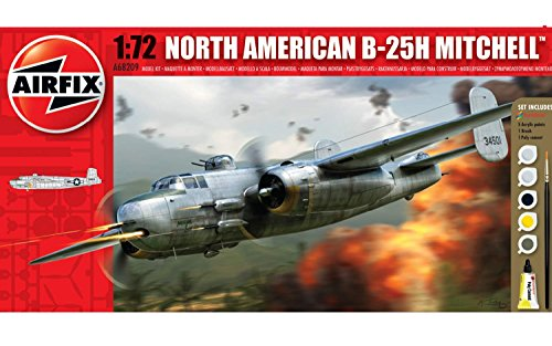 Airfix A68209M North American B-25H Mitchell 1:72 Small Starter Gift Set
