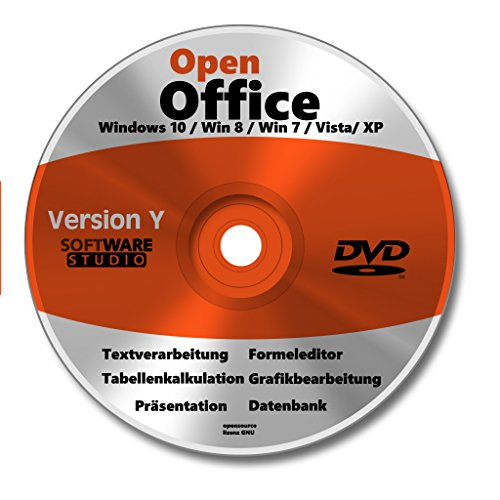 Open Office windows 10 deutsch Vollversion Windows 10 + 8 + 7 + Vsta + XP Powerpoint Präsentation Word Schreibprogramm Textverarbeitung Excel Tabellenkalkulation 2019