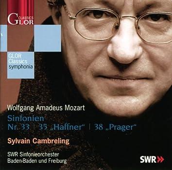 """MOZART, W.A.: Symphonies Nos. 33, 35, """"Haffner"""", 38, """"Prager"""""""