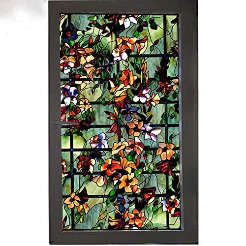 Raamfolie voor raamfolie voor raamfolie stickers voor ramen decoratiefolie voor zelfklevende raamfolie voor statische luchtbellen zelfklevende decoratiefolie 40/45/50/60/70/80 x 100 cm