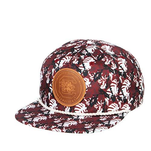 NCAA Zephyr South Carolina Fighting Gamecocks Mens Malibu Snapback Hat, Adjustable, Fashion Team Color