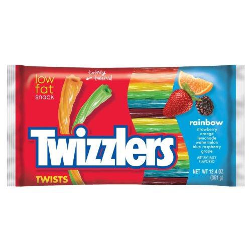 Twizzlers Rainbow Twists 12.4oz