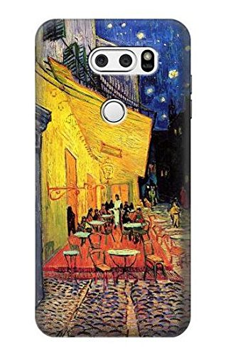 Innovedesire Van Gogh Cafe Terrace Hülle Schutzhülle Taschen für LG V30, LG V30 Plus, LG V30S ThinQ, LG V35, LG V35 ThinQ