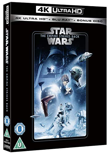 Star Wars Empire Strikes Back UHD [Blu-ray]