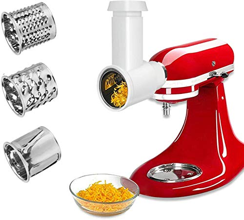 Upgrade Slicer or Shredder Attachments for KitchenAid Stand MixerVegetable Chopper Attachment Cheese Grater Attachment Salad Maker