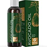 Avocado Oil For Hair Skin and Nails - Pure Avocado Oil Hair Moisturizer for Dry Hair - Humectant Moisturizer Avocado Oil for Skin Care Natural Hair Oil and Carrier Oil for Essential Oils Mixing