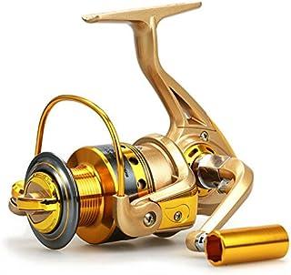 YUMOSHI HF4000 Fishing Spinning Reel 10 BB Gear Ratio 5.5:1 Golden Fishing Reel