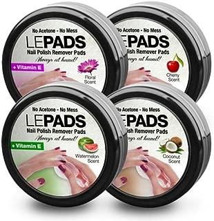 bitzy nail polish remover pads