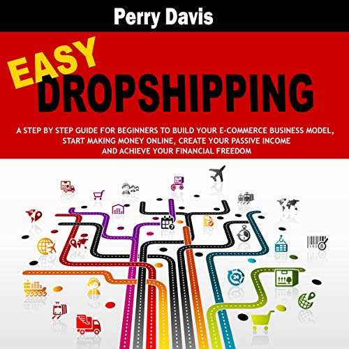 Easy Dropshipping Audiobook By Perry Davis cover art