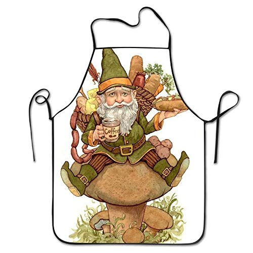 N / A Kitchen Apron,Cooking Chefs Apron,Bib Apron,Garden Apron,Personalised Party Apron,Novelty Apron,Bbq Aprons,Gnomes Aprons