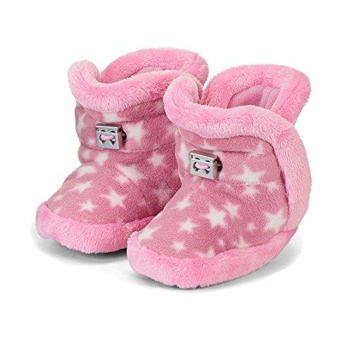 Sterntaler Baby-Schuh, Bottines Fille, Rose (Perlrosa 728), 19/20 EU
