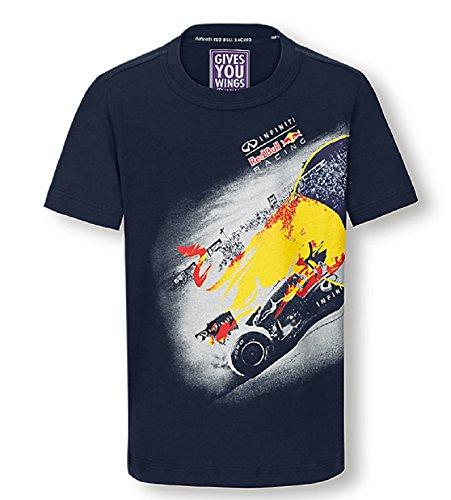 Red Bull Infiniti Racing Team Formula 1 F1 T-shirt graphique pour homme - Bleu - XXL