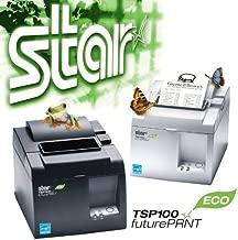 Star Micronics TSP 143IIU ECO - Receipt Printer - Two-Color - Direct Thermal - Roll (3.15 in) - 203 dpi - USB