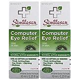 Similasan Computer Eye Relief Eye Drops, 2 Count