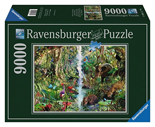 Ravensburger 17801 - Dschungel Tiere - 9000 Teile Puzzle