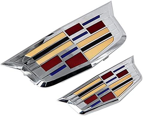 Front+Rear Set Emblem Badge Logo for ATS Cadillac Cheap Milwaukee Mall SALE Start 2019 - XT 2015
