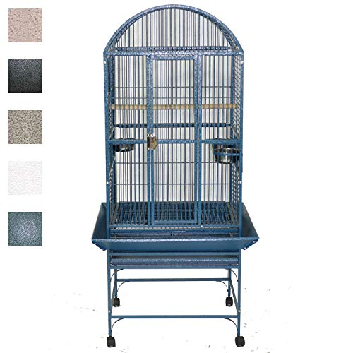 A&E Cage 9002422 Green Dome Top Bird Cage, Medium