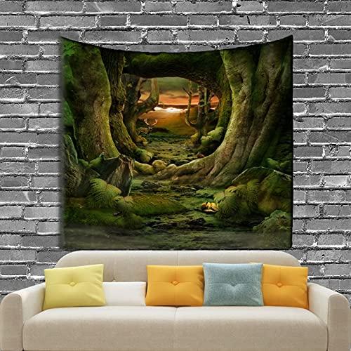 KHKJ Tapiz de Variedad Impresa Decoración de Sala de Estar y Dormitorio Toalla de Picnic de Playa de Arena A3 95x73cm