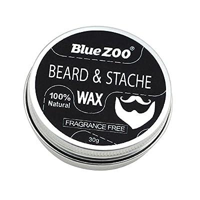 Natural Beard Balm Moisturizing Moustache Wax Men Grooming - Fragrance Free