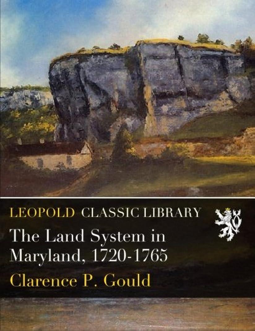 コックシュガー低いThe Land System in Maryland, 1720-1765
