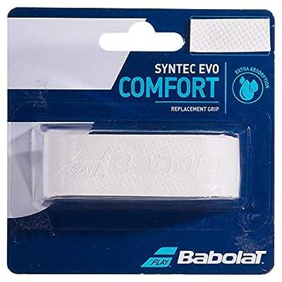 Babolat SYNTEC EVO X1 Overgrip, Adultos Unisex, Blanc (Blanco), Talla Única