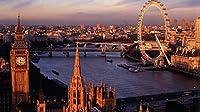ロンドンの都市景観500ピースジグソーパズル木製ジグソー脳チャレンジ