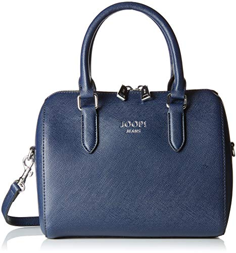 Joop! Damen Saffiano Aurora Handbag Shz 1 Henkeltasche, Blau (Dark Blue), 15x19x25 cm