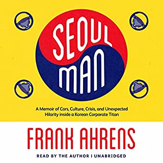 Seoul Man audiobook cover art