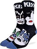 Good Luck Sock Men's Kiss Band Socks, Adult