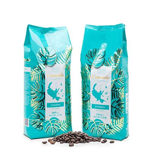 Kaffee in ganzen Bohnen, Consuelo Ethiopia - 2x1kg