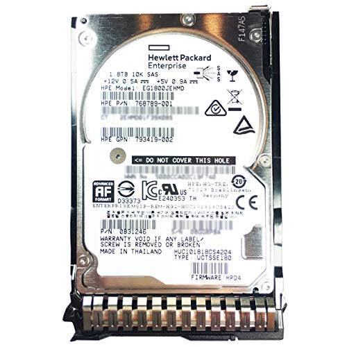 HPE 1.8TB EG1800JEHMD 768789-001 793419-002 HUC101818CS4204 0B31246 SAS 2.5' SFF