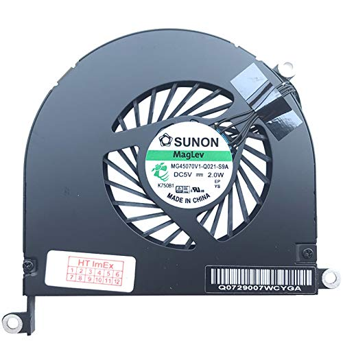 (Verison Links) ventilator koeler fan Cooler compatibel voor Apple MacBook Pro 17