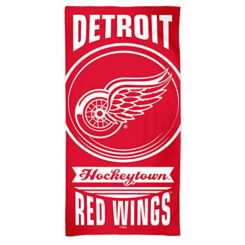 NHL Badetuch Detroit Red Wings Handtuch Strandtuch Towel 150x75cm