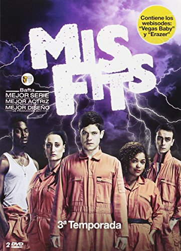 Misfits - Temporada 3 [DVD]