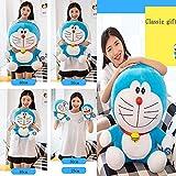47-B Doraemon Plüschtiere, Doraemon Umarmungskissen, Jingle Katzen Plüsch, Geburtstagsgeschenke Für Jungen Und Mädchen, (Color : A, Size : 40CM)