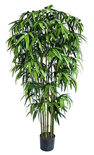 Seidenblumen Roß Sumatra Bambus 150cm DA Kunstbaum Dekobaum Kunstbambus künstlicher Baum Bambus