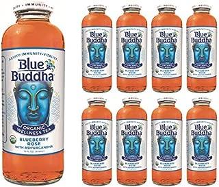 Blue Buddha Organic Wellness Tea, Blueberry Rose Organic (Pack of 8)