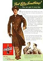 180F 1943年のレトロ広告 コカコーラ Coca-Cola Coke
